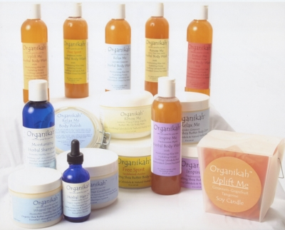 Organikah products are naturally good for your skin